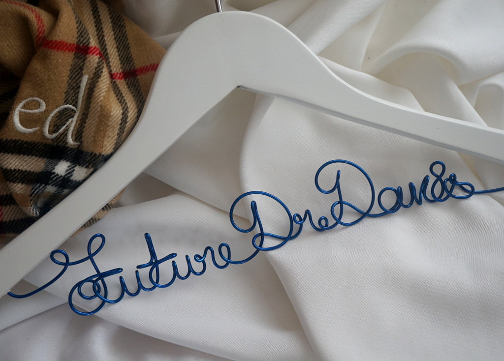 First White Coat Hanger Personalized For Student Doctor | Homes ...