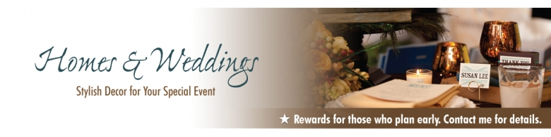 Homes And Weddings Banner