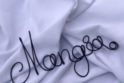 wire mangia wall sign