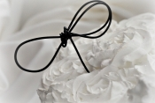 black knot cake topper