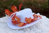 miniature hat cake topper
