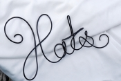 hats wire sign