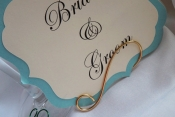 gold table name holder